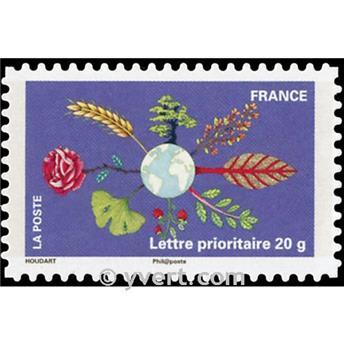 n° 537a -  Timbre France Autoadhésifs