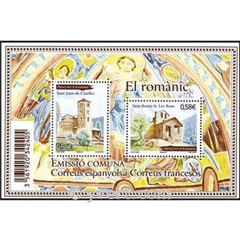 n° 3 -  Selo Andorra Blocos e folhinhas