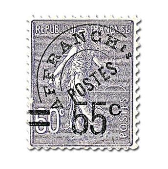 n° 47 -  Selo França Pré-obliterados