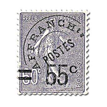 n.o 47 -  Sello Francia Precancelados