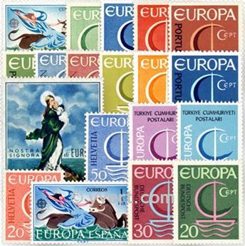 1966** - Année complète neuf EUROPA