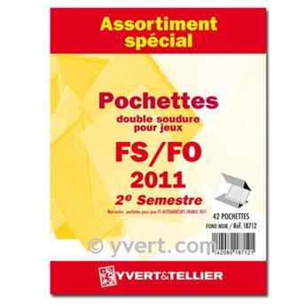 Assortiment de pochettes (double soudure) : 2011-2eme semestre