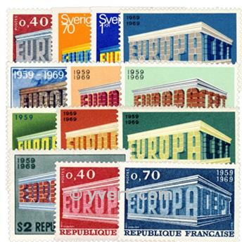 1969** - Année complète neuf EUROPA