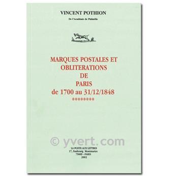 MARQUES POSTALES ET OBLITÉRATIONS DE PARIS