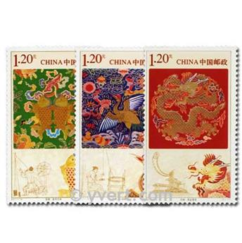 n° 4816/4818 -  Timbre Chine Poste