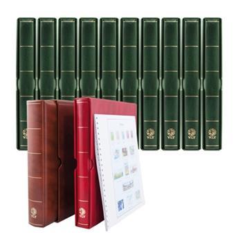 6 albumes SUPRA MAX + Juegos de hojas SC Francia 1849-2014