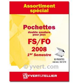 Assortiment de pochettes (double soudure) : 2008-1er semestre