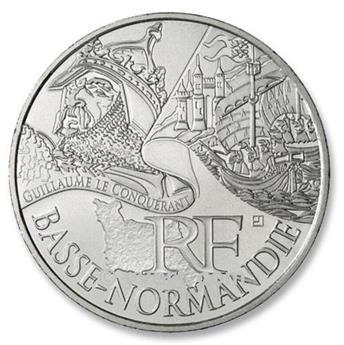 10 € DAS REGIÕES - Basse-Normandie - 2012