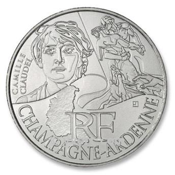 €10 DES REGIONS 2012 - Champagne-Ardenne