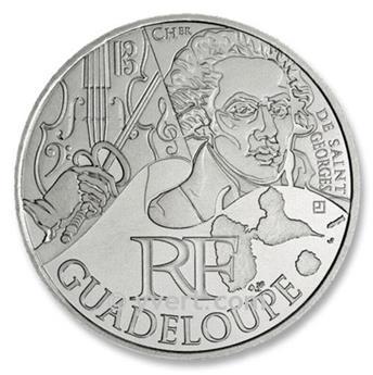 10 € DAS REGIÕES -Guadeloupe  - 2012