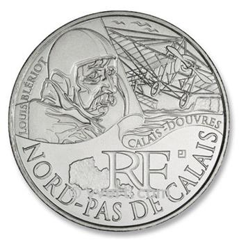 10 € DE LAS REGIONES - Nord Pas-de-Calais - 2012