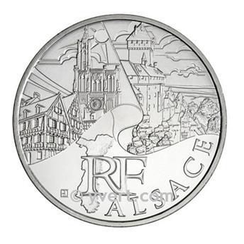 10 € DE LAS REGIONES - Alsace - 2011