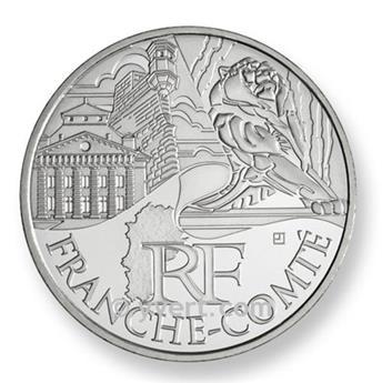 €10 DES REGIONS 2011 - Franche-Comté 2011