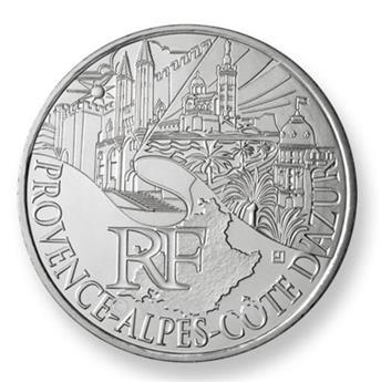€10 DES REGIONS 2011 - Provence-Alpes-Côte d´Azur 2011