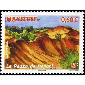 n.o 262 -  Sello Mayotte Correos