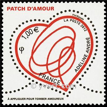n.o 4632 -  Sello Francia Correos