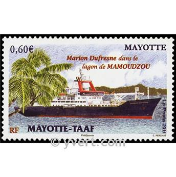 n.o 265 -  Sello Mayotte Correos