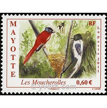 n.o 257 -  Sello Mayotte Correos