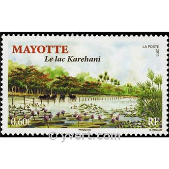 n.o 254 -  Sello Mayotte Correos