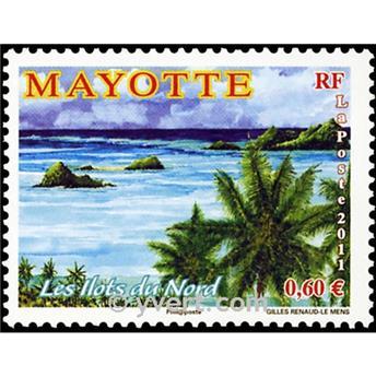 n.o 264 -  Sello Mayotte Correos