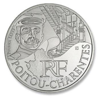 10 € DE LAS REGIONES - Poitou-Charentes - 2012