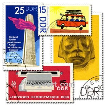 ALEMANHA LESTE: lote de 1000 selos
