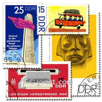 EAST GERMANY: envelope of 1000 stamps
