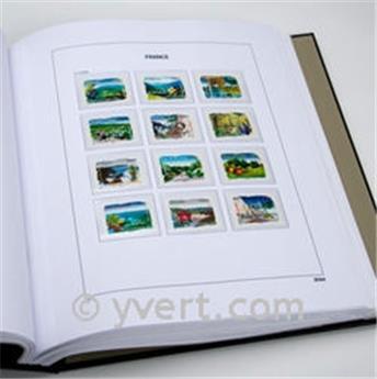 FRANCE LUXE (Timbres Découpés des blocs & carnets) : 2020 (avec pochettes) - DAVO®