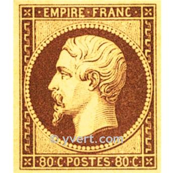 n° 17A obl. - Napoléon III (Empire Non dentelé)