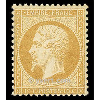 n.° 21 obl. - Napoleón III