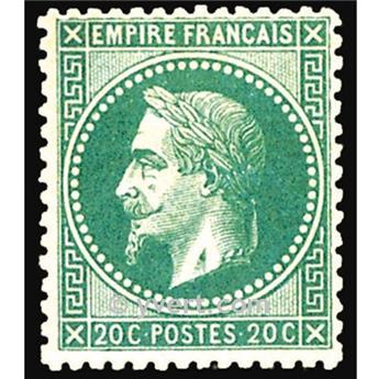 n° 29A obl. - Napoléon III (Empire lauré)