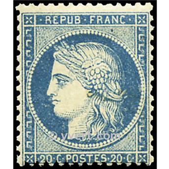 nr 37 obl. - Type de 1849. Cérès