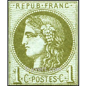 n° 39C obl.- Cérès - Cérès (Émission de Bordeaux)