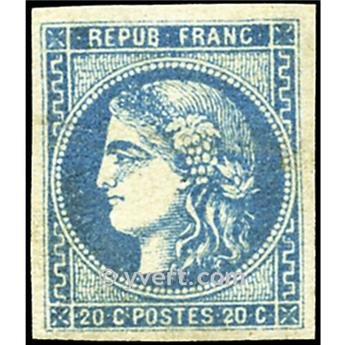 n° 46B obl. - Cérès (Émission de Bordeaux)