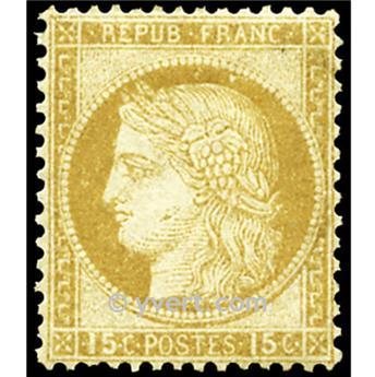 n° 55 obl. - Type Cérès dentelé (IIIe République)
