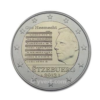 €2 COMMEMORATIVE COIN : LUXEMBOURG? - 2013