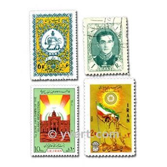 IRAN: envelope of 300 stamps