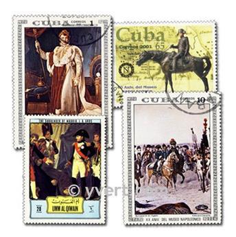 NAPOLEÃO: lote de 200 selos