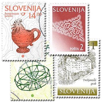 SLOVENIE : pochette de 25 timbres