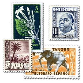 TANGIER: envelope of 25 stamps
