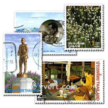 THAILANDE : pochette de 50 timbres