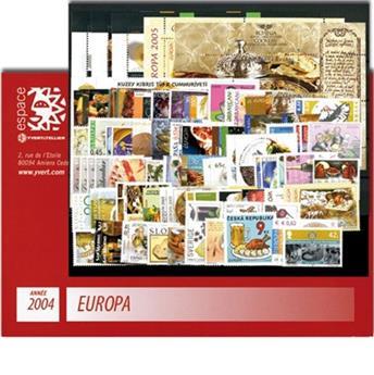 2004** - Année complète neuf EUROPA