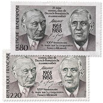 1988 - Emissão conjunta-França-Alemanha