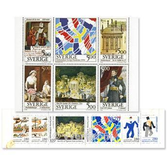 1994 - Emissão conjunta-França-Suécia