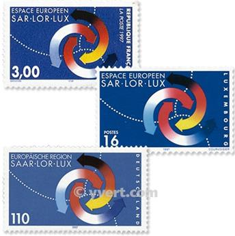 1998 - Emisiones comunes - Francia - Alemania - Luxemburgo