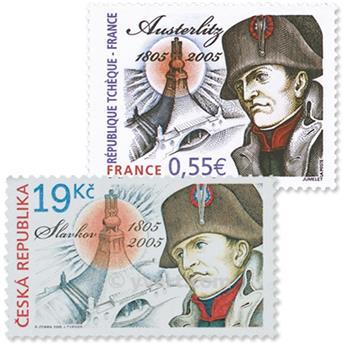 2005 - Emisiones comunes - Francia - República Checa (Fundas)