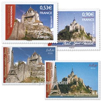 2006 - Joint issue-France-UN-(mounts)