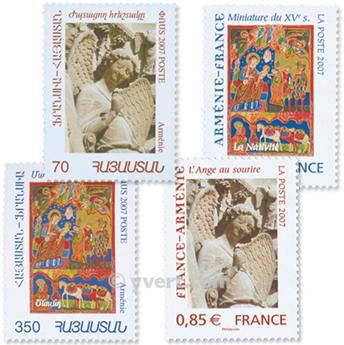 2007 - Joint issue-France-Armenia