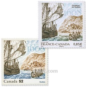 2008 - Joint issue-France-Canada