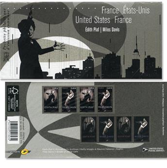2012 - Emisiones comunes - Francia - USA (Fundas)